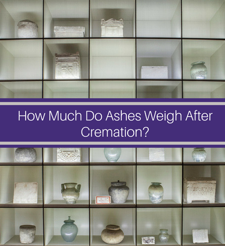 How Much Do Ashes Weigh After Cremation? • Blog | Martin