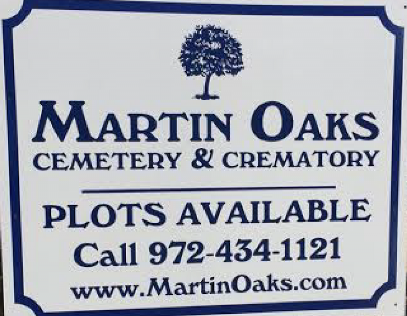 cemetery and crematory plots available